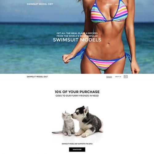 Swimsuit Model Diet