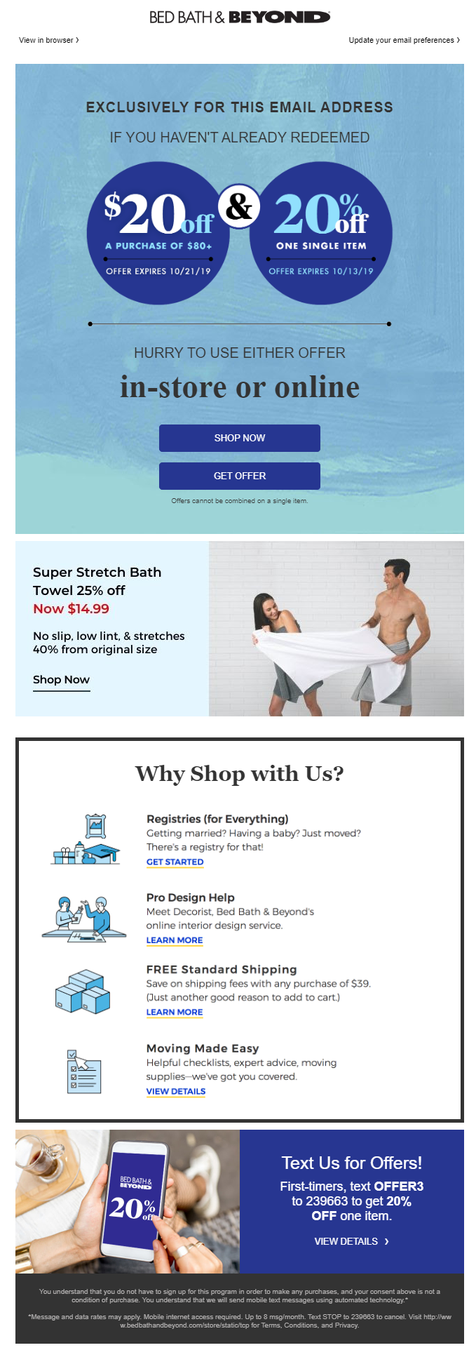 Image, Bed Bath & Beyond, Reward Your Loyal Customers for Better Customer Retention