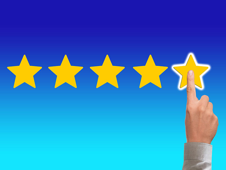 Customer feedback and reviews